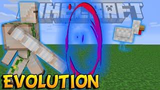 ОТ ГОЛЕМА ДО КУРИЦЫ - Minecraft Evolution (Mini-Game)