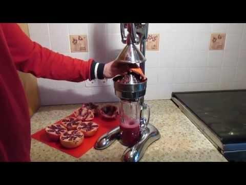 Контрольная закупка Гранатовый сок Сок гранатовый Соковыжималка пресс для цитрусовых и гранатов
