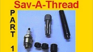 Toro Spark Plug Thread Repair with Sav A Thread by Heli Coil PART 1