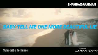 Gambar cover Baby Tell Me One More Beautiful Lie | Alan Walker