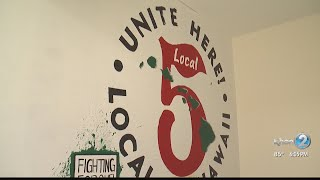 Union members speak out after they say hotel worker was attacked