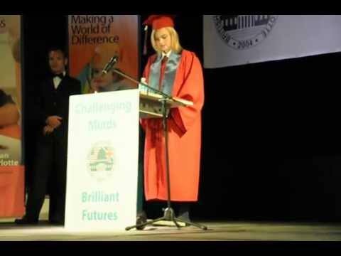 Lauren's Graduation Speech - British American School of Charlotte