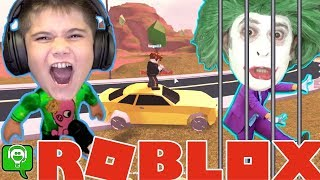 ROBLOX Escape with Joker! HobbyKidsGaming