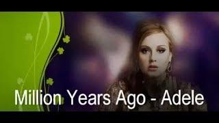 Adele - Million Years Ago. Видеоурок на фортепиано двумя руками.