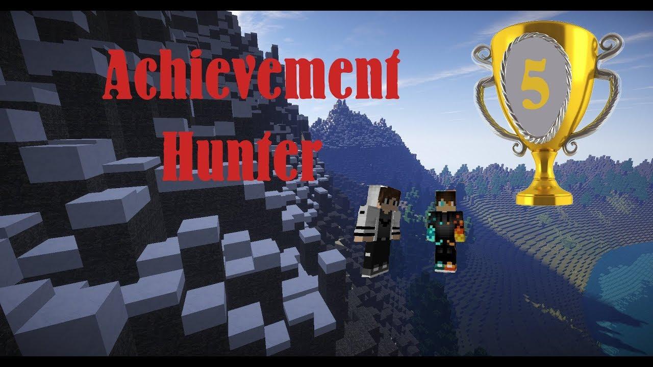 Minecraft Achievement Hunter #5 Wir Bauen Ein Haus!