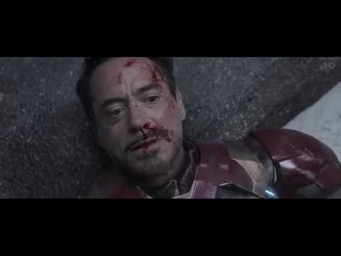  IRON MAN VS CAPITAN AMERICA PELEA FINAL  CAPITAN AMERICA: CIVIL WAR (2016)(HD)