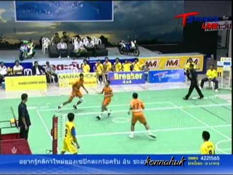 2011 Sepak Takraw Thailand League / Loei Vs Ratchasima- set 2