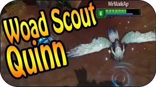 Woad Scout Quinn Skin Spotlight | League of Legends | Pre Release Skin Preview