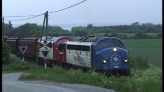 My 1122 and 1132 .Viborg to Logstor Denmark, PBS, GM in Denmark 2/5