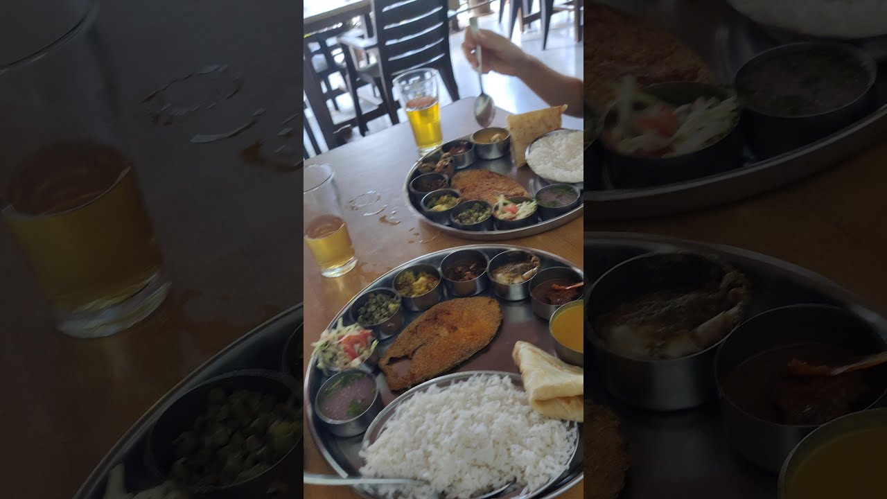 GOAN FISH CURRY RICE | Fish Thali, A Must Try in #Goa | Indian Food