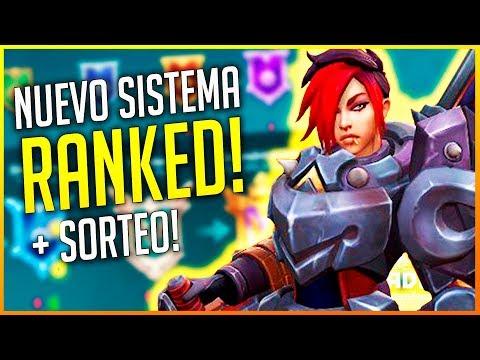 PALADINS: NUEVO SISTEMA RANKED + SORTEO PARA JUGAR CONMIGO!! | Makina