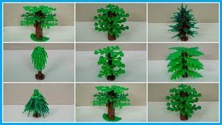 Как сделать дерево из конструктора. 7 лайфхаков для самоделок из LEGO