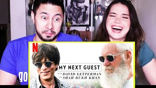 SHAH RUKH KHAN INTERVIEW W/ DAVID LETTERMAN | Netflix | Reaction | Jaby Koay