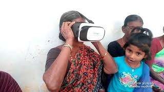 Village elders react vr 3d vedios in my village goplalipally