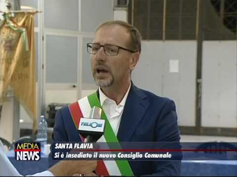 Si è insediato il nuovo consiglio comunale di Santa Flavia