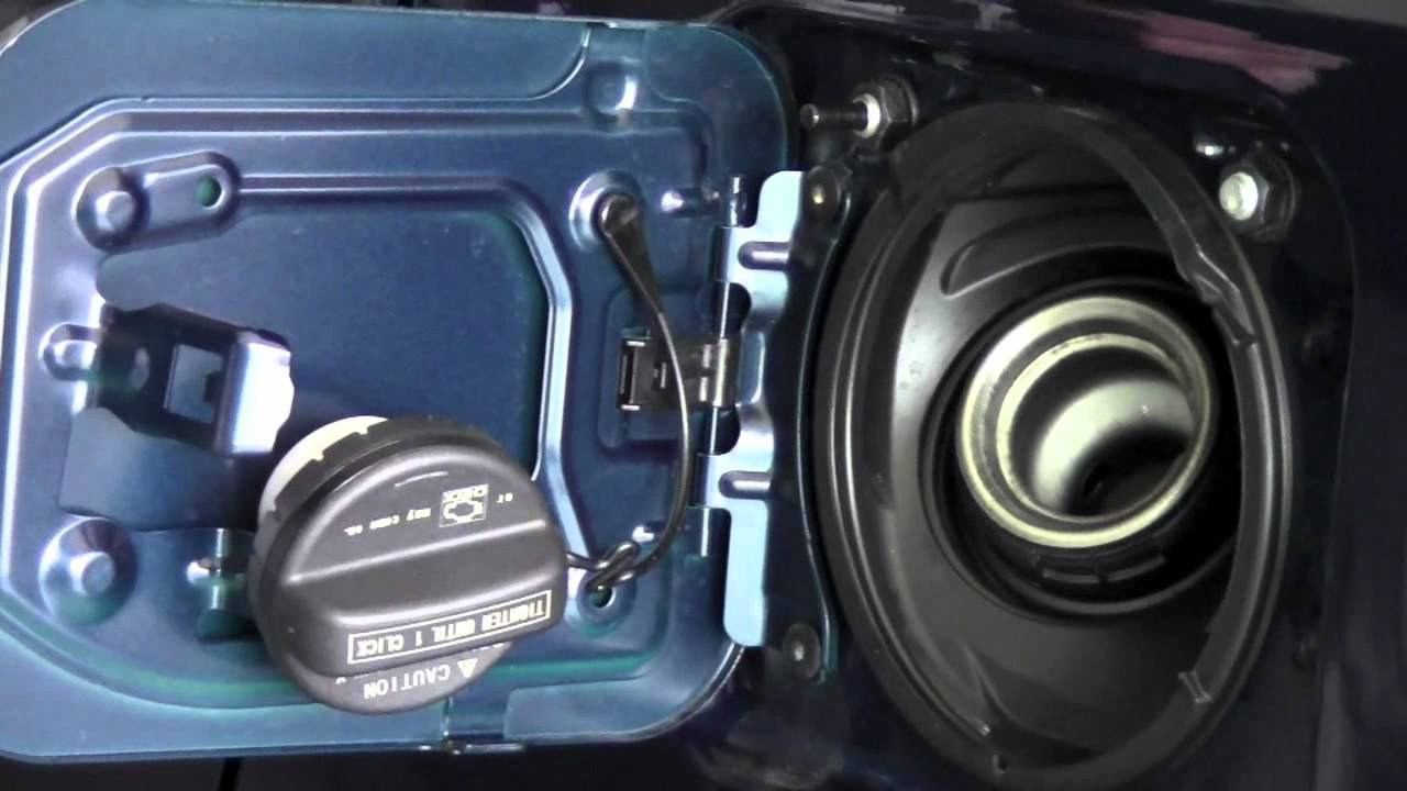 2011 Toyota Sienna Fuel Door Release How To By