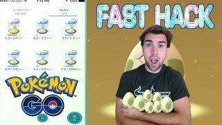 """FAST EGG HATCHING STRATEGY IN """"POKEMON GO""""!!!"""