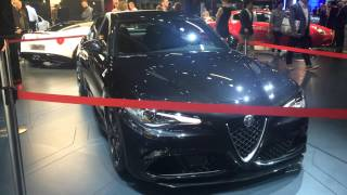 homepage tile video photo for 2016 Alfa Romeo Giulia Quadrifoglio