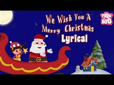We Wish You A Merry Christmas And A Happy New Year Song With Lyrics | Popular Christmas Song
