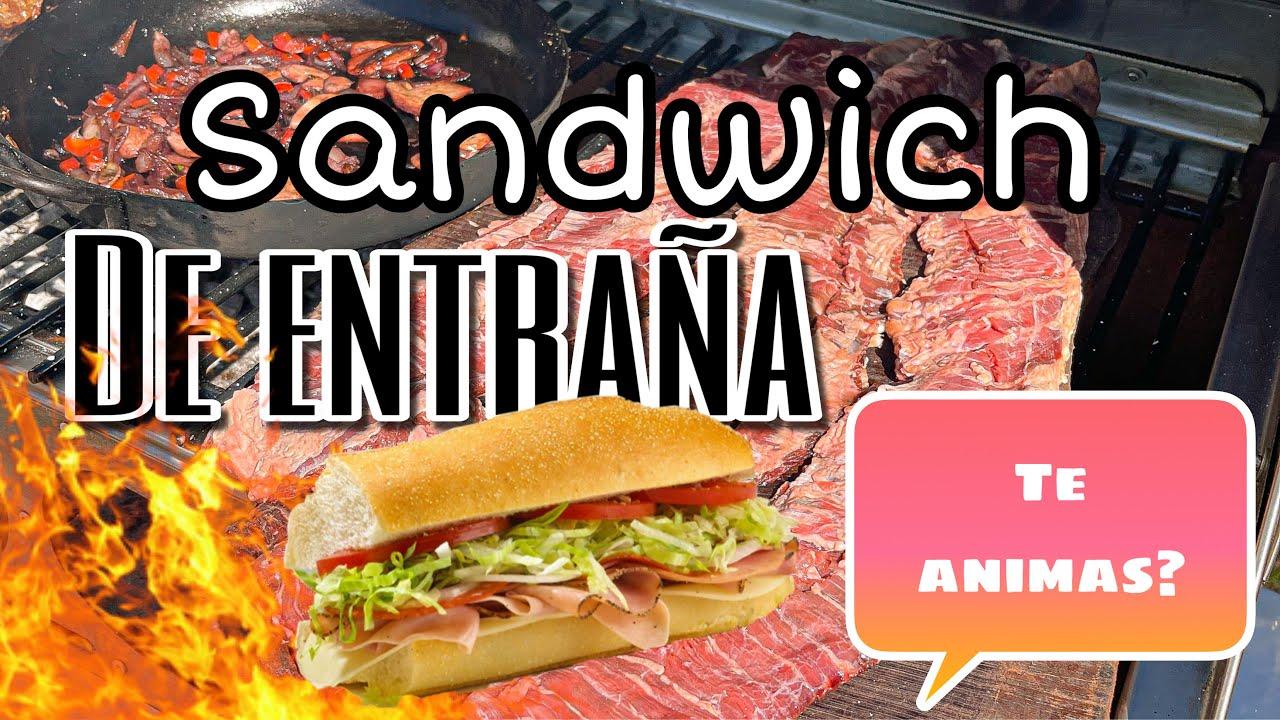 Sándwich de Entraña | Parrillas Argentinas.