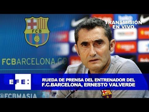 Rueda de prensa de Ernesto Valverde