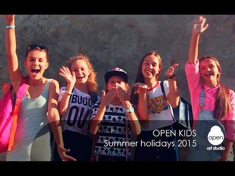 Summer holidays 2015 by Open Kids - Open Art Studio
