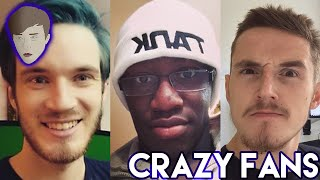 Fans Breaking Into Youtubers Houses (Pewdiepie, Comedyshortsgamer, Syndicate)