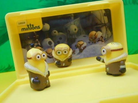 Vive Le Minions Minions Micro Minion Playset