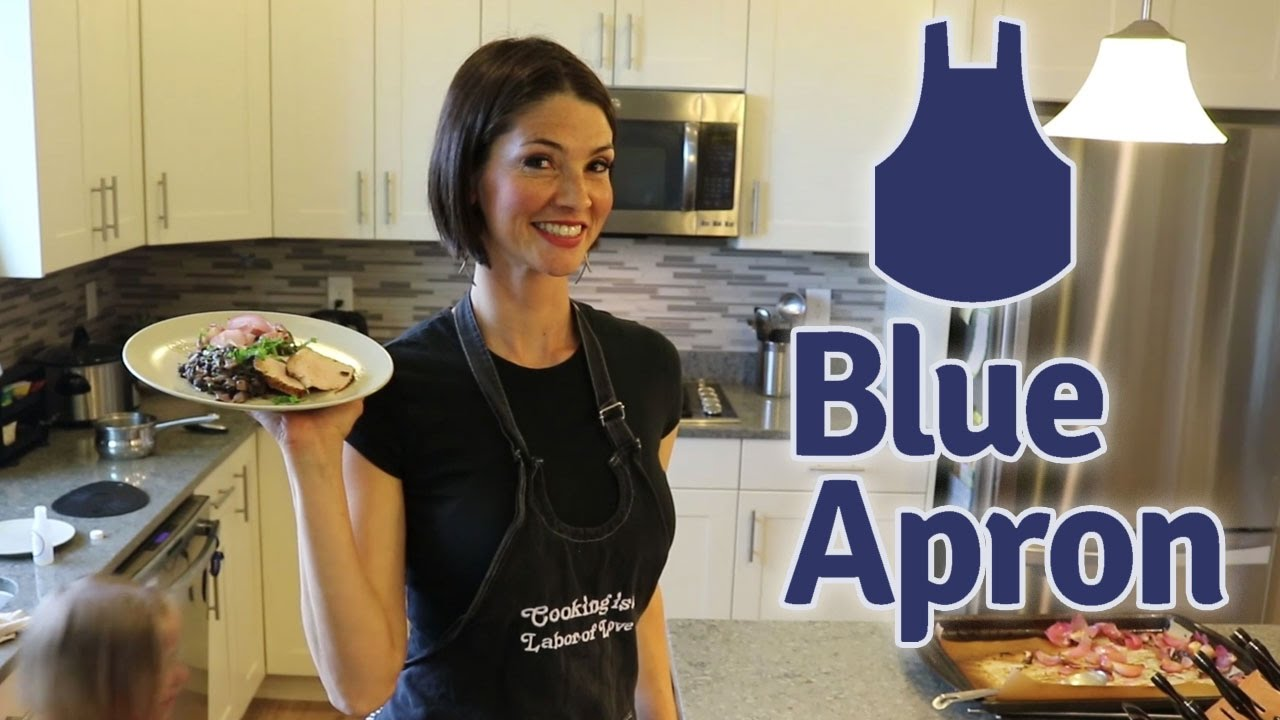 Blue apron top chef contest - Blue Apron Cooking Spiced Pork With Music