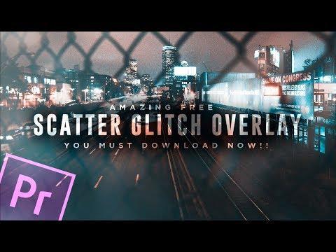 FREE Scatter Glitch Overlay || Premiere Pro, Final Cut Pro X