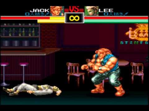 Art Of Fighting (SNES) - Desperation Moves