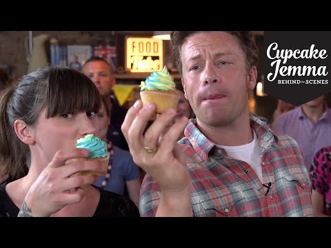 Get Rainbow Buttercream Cupcakes with Jamie Oliver | Cupcake Jemma Images