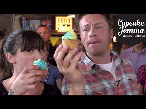 Get Rainbow Buttercream Cupcakes with Jamie Oliver | Cupcake Jemma Pics