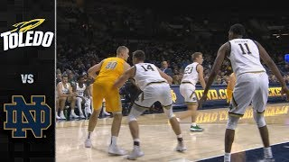 Toledo vs. Notre Dame Men's Basketball Highlights (2019-20)