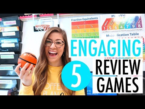Review Games Students LOVE | Elementary, Middle, And High School