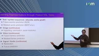"Yann LeCun: ""Energy-Based Self-Supervised Learning"""