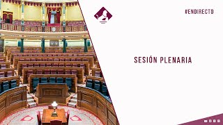 Sesión Plenaria (19/05/2021)