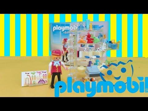 Playmobil Summer Fun 5268 Hotel Shop Unboxing