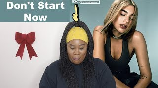 Dua Lipa - Don't Start Now |REACTION|