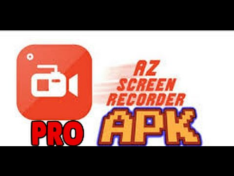 Az Screem Record Pro Gravador de Tela ( Sem Root ) Download Gratis !