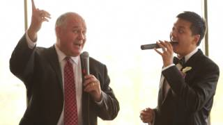 Mayor Frank Scarpitti & Aaron Madar Sings Chinese Song
