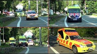 International EMS/ ambulance parade in Czechia - Rallye Rejviz 2018 - Spanilá jízda