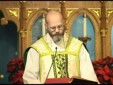 Jan 07 - Homily: The Wedding Feast of Cana