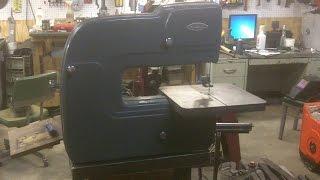 Craftsman 3 Wheel Bandsaw Stand Part 01