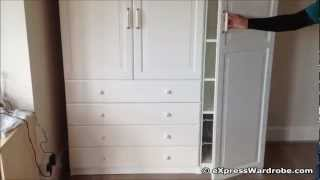 IKEA Pax Birkeland 4 Drawers 2 Doors Wardrobe Design, Kids Special