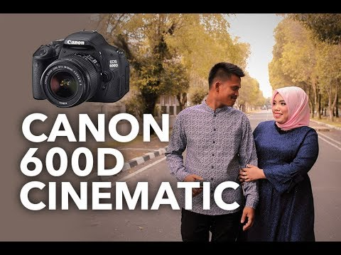 Canon 600d Cinematic Video With 24mm F2.8 Lens