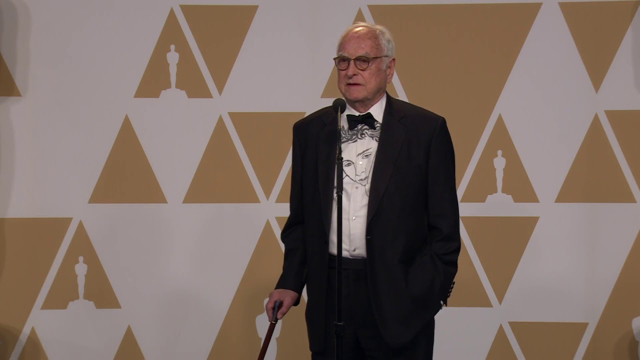 """""""Call Me By Your Name"""" - 2018 Oscars - Best Adapted Screenplay - James Ivory - Backstage Speech"""