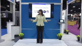 Hussmann In-Booth Presentation at NACS Show 2016 by Trade Show Presenter Emilie Barta