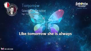 "Gianluca Bezzina - ""Tomorrow"" (Malta) - Karaoke version"