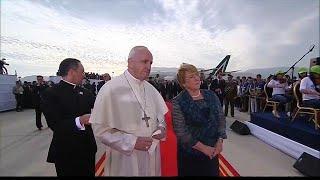 البابا فرانسيس في تشيلي لتحسين صورة الكنيسة بعد سلسلة الفضائح الجنسية  …